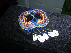 Barrette with Mirror and Shells