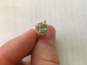 Custom Rose Gold Engagement Ring in perfect condition