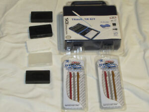 FOR SALE NEW DS TRAVELER KIT, 2 NEW PACKAGES OF DS PENS, GAME C