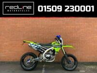YAMAHA WR 450 - IMMACULATE CONDITION - SUPERMOTO +DIRT WHEELS - 5.9%APR