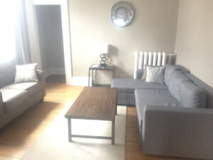1 Bedroom fully furnished w parking downtown location