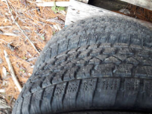 Two winter tires 205/65/15