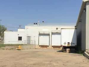 For Lease: Warehouse and office space with dock loading