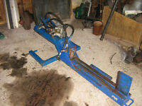 Wood splitter,fits tractor 3 point hitch 900.00