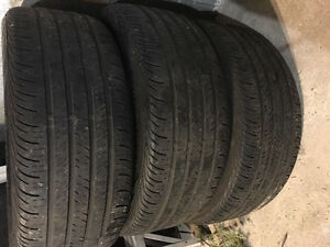 Used Continental 235/50 R18 97H All Season X 3 tires