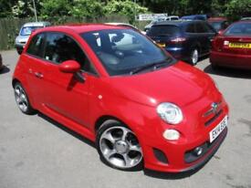 2014 ABARTH/FIAT 500 ABARTH SPORTS LEATHER SEATS HATCHBACK PETROL