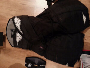 Assortment of Youth Large/Men's Small Hockey Gear
