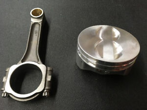 Sb Chevy new wiseco pistons and eagle rods & crank