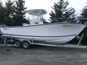 26ft Albemearle with New F300 Yamahas