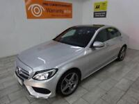 SILVER MERCEDES-BENZ C CLASS 2.1 C250 BLUETEC AMG PREMIUM *FROM £346 PER MONTH*