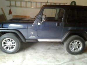 mint jeep tj
