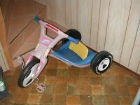 Trycycle - RADIO FLYER   2 EN 1