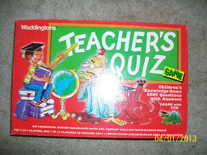 Teacher's Quiz - Waddingtons Kitchener / Waterloo Kitchener Area image 1
