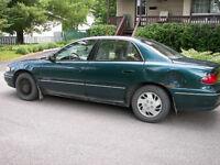 1996 Buick Century fin de vie, bon pour l'été, aux alentours
