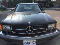 1986 Mercedes- great condition
