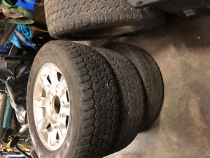 """20"""" rims and good year tires, I has sidewall hole"""