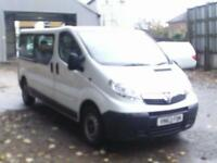 Vauxhall Vivaro 2.0Cdti [115Ps] Combi 2.9T Euro 5 DIESEL MANUAL WHITE (2013)