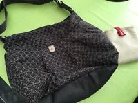 Babymel quilted changing bag