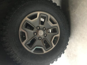 Jeep rubicon rims