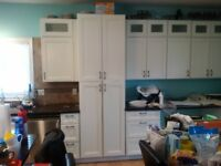 Kitchen cabinet Painting services!!!