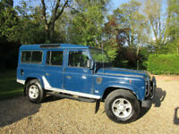 1996 Land Rover 110 DEFENDER COUNTY 2.5 TDI 9 SEATER LWB STATION WAGON ORIGINAL