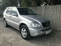 2004 54 Mercedes-Benz ML350 3.7 auto ML350 7 seats 25.7 mpg p/x