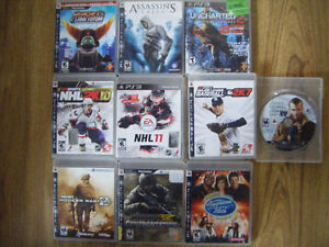 10 Ps3 games for sale