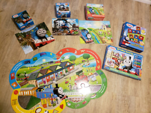 Lot of Thomas puzzles and games