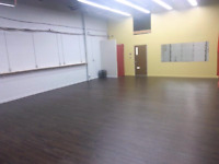 Ajax studio space available for rent