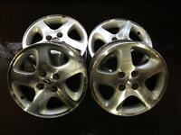 ORIGINAL 15 INCH MAZDA OEM MAGS **EXCELLENT FOR/POUR MAZDA 2**