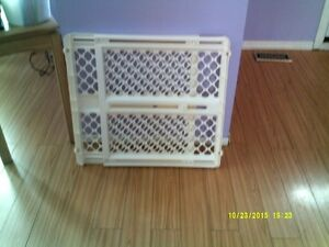 New Northgates pressure mounted baby gate