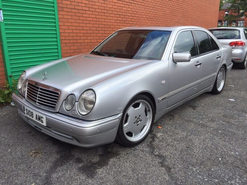 1998 mercedes e55 amg v8 370bhp w210 in oldham. Black Bedroom Furniture Sets. Home Design Ideas