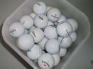 Used Golf Balls - Mixed Brands -100 Balls - $35 (campbell river)