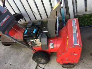 Noma snowblower- will need servicing