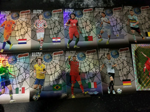 Soccer cards collection
