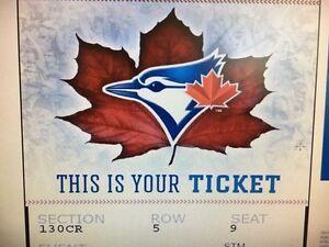 Jays tickets (2)