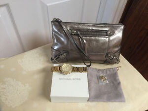 Authentic MK Watch & Purse