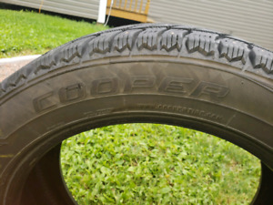Cooper Studded Winters 215/55 R18