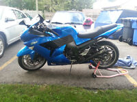 2007 ZX14r with 6400kms in very good condition