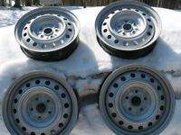 """4 GM Steel Rims....as new...for 16"""" Tires"""