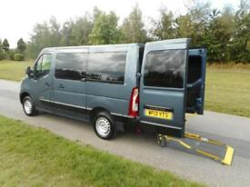 2013 Renault Master 2.3 Dci 6 SEATS, ONLY 29K Wheelchair Accessible Vehicle WAV