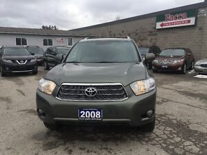 2008 TOYOT HIGHLANDER AWD NAVIG LEATHER AUTO CERTIFIED & E-TEST London Ontario image 2