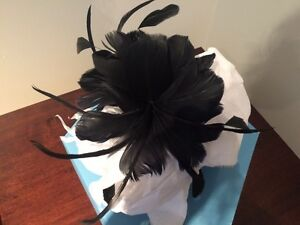 Black feather fascinator Oakville / Halton Region Toronto (GTA) image 2