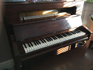 Free antique Bell piano/pianette - just needs bit of TLC