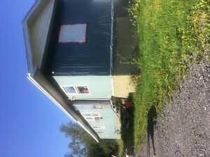 Two bedroom trailer for rent