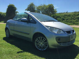 2008 Mitsubishi Colt Cabriolet 1.5 CZC2 VERY LOW MILAGE EXCEPTIONALLY CLEAN FSH