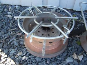 2 NAUTICAL BOAT GAS BURNER CAMPING STOVES OR HEATERS