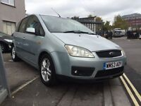 Ford Focus c max 1.6petrol Zetec new mot 495
