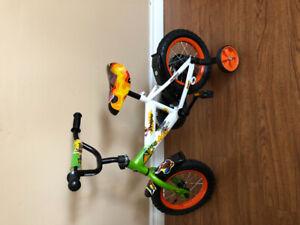 Toddler bike for sale. $80. For two years old and up.