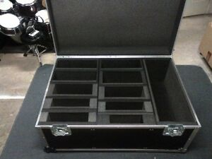 Large Professional Road Trunk Flight Case Storage with wheels